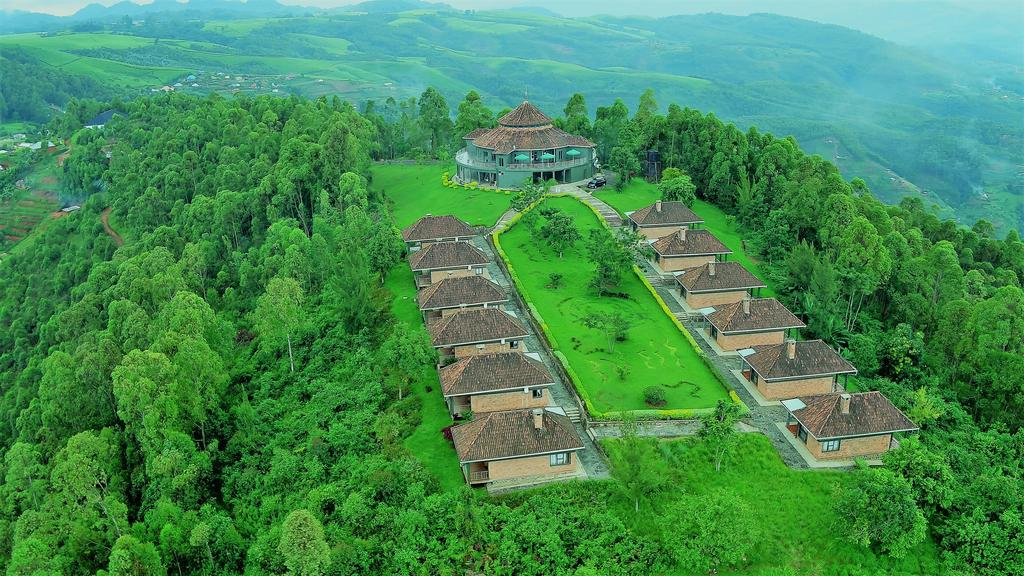 Aerial View Of Nyungwe Top View Hotel