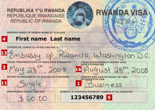 How to Get your Visa to Rwanda